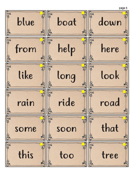 Dolch Sight Words - Game