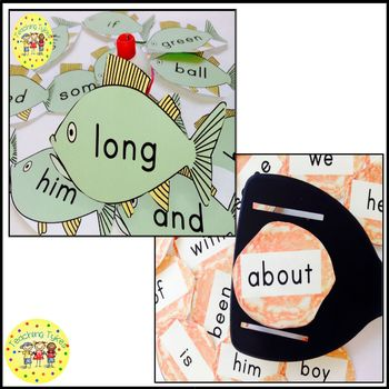 Dolch Sight Words Games