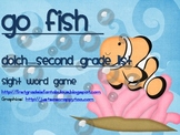 "Dolch Sight Words ""Go Fish"" 2nd Grade List"