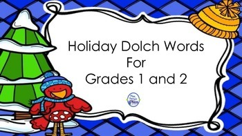 Dolch Sight Words Grades 1 and 2