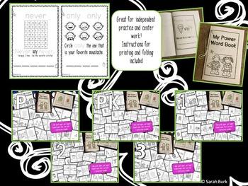 Dolch Sight Words Interactive Packet MEGA BUNDLE {PreK, K, 1, 2, 3}