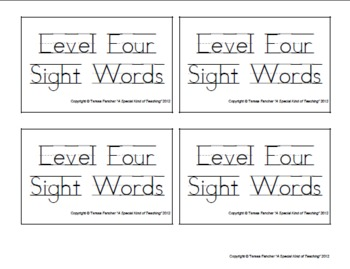 Dolch Sight Words: Level 4 (Super Reading Cards)