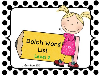 Dolch Sight Words List 2