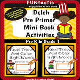 Dolch Sight Word Mini Book Activities