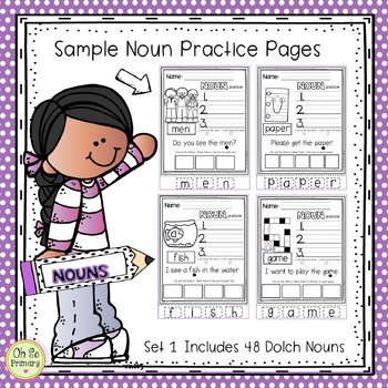 Dolch Sight Words ** NOUNS**