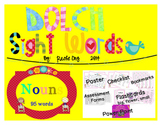 Dolch Sight Words NOUNS [Bookmarks, Flashcards, Powerpoint and more]
