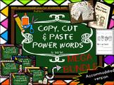 Autism Accommodated Dolch Sight Words Packet MEGA BUNDLE {PK-3}