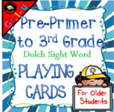 Dolch Sight Words Playing Cards Bundle!