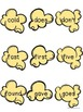 Dolch Sight Words - Popcorn Words - Grade 2 Word Wall Cards