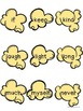 Dolch Sight Words - Popcorn Words - Grade 3 Word Wall Cards