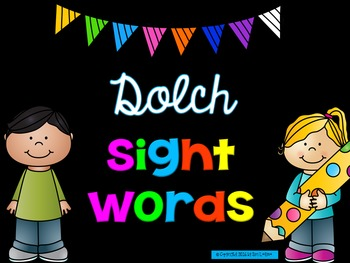 Dolch Sight Words PowerPoint