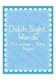Dolch Sight Words Practice Flashcards