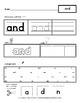 Dolch Sight Words - Pre-K - Worksheets - The First 40 Words