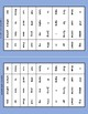 Dolch Sight Words Pre Kindergarten Clip / Clothespin Cards - Space Theme
