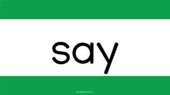 Dolch Sight Words (Pre-Primer-3rd Grade): Digital Flashcards