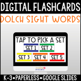 Distance Learning Dolch Sight Words (Pre-Primer-3rd Grade)