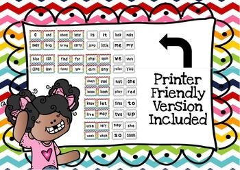 Dolch Sight Words Pre Primer - 3rd Grade Flash Card Bundle