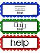 Write It and Wipe It! Pre-K & Kindergarten Literacy Center -Dolch Words