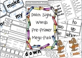 Sight Words Pre-Primer Pack