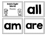 Dolch Sight Words Flash Cards (Primer)