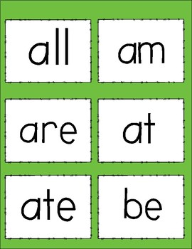 Dolch Sight Words- Primer