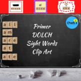 Dolch Sight Words - Primer - Clip Art