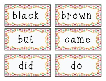 Dolch Sight Words Primer (Grade K)