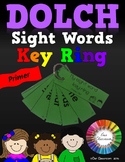 Dolch Sight Words Key Ring (Primer Word List)