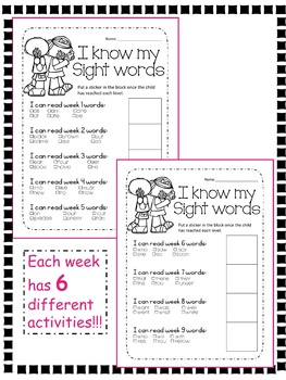 Dolch Sight Words Primer Lesson