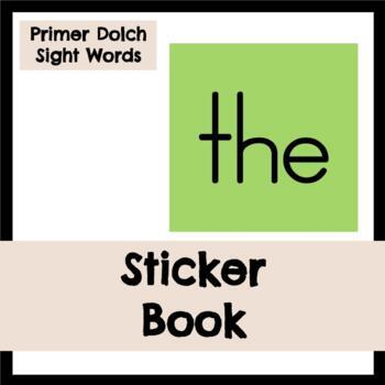 Dolch Sight Words: Primer Sticker Book