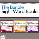 Dolch Sight Words Printable Books - Bundled (Pre-Primer, P