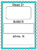Kindergarten and First Grade Sight Words- Read, Build, and Write It BUNDLE