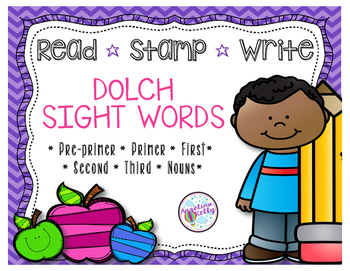 Dolch Sight Words *Read*Stamp*Write*