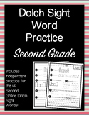 Dolch Sight Words Second Grade