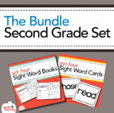 Dolch Sight Words Second Grade Books, Flashcards and Asses