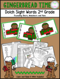 Dolch Sight Words: Second Grade (Gingerbread Theme)