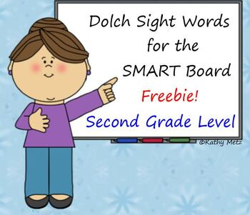 Dolch Sight Words:  Second Grade Level Freebie!