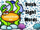 Sight Words Second Grade List Fish