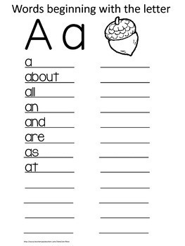 Dolch Sight Words: Student Desk Dictionary {First Grade/Grade One}