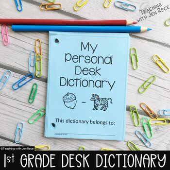 Dolch Sight Words: Student Desk Dictionary {First Grade/Gr
