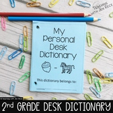 Student Desk Dictionary for Second Grade with Sight Words