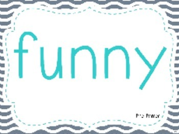 Dolch Sight Words Table Names (PP - 2nd) Gray and Teal