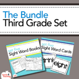 Dolch Sight Words Third Grade Books, Flashcards and Assess