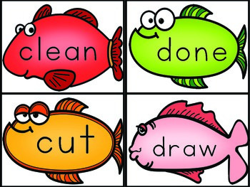 Sight Words Third Grade List Fish