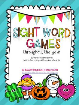 Sight Words - Dolch All Year Game