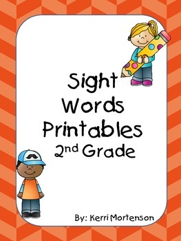 Dolch Sight Words Unit Grade 2