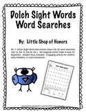 Dolch Sight Words Word Searches