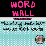 Reading and Writing Sight Word Wall