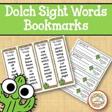 Dolch Sight Words and Nouns Bookmarks - Cactus