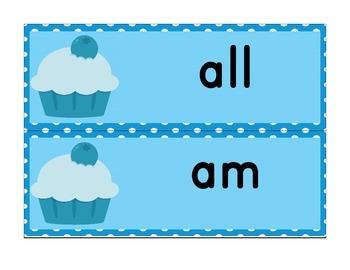Sight Words for Kindergarten Word Wall